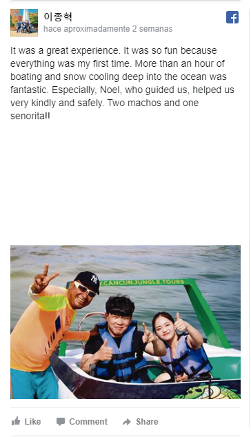 testimonial asiaticos adventure cancun jungle tours